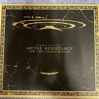 ベビーメタル(BABYMETAL)のBABYMETAL METAL RESISTANCE THE ONE 限定(ミュージック)