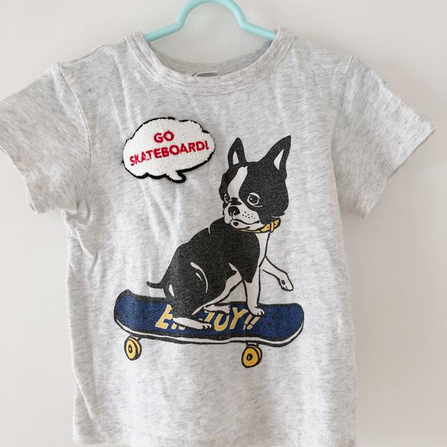 BREEZE(ブリーズ)の【お値下げ】BREEZE 刺繍入りデニムシャツ&Tシャツ サイズ100 キッズ/ベビー/マタニティのキッズ服男の子用(90cm~)(ブラウス)の商品写真