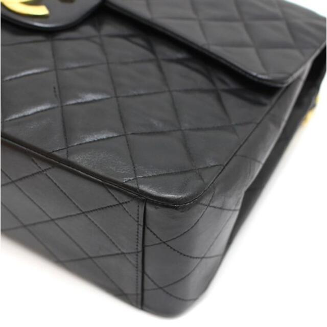 CHANEL(シャネル)の広尾店 シャネル デカマトラッセ34 ショルダーバッグ ラム 黒【10135】 レディースのバッグ(ショルダーバッグ)の商品写真
