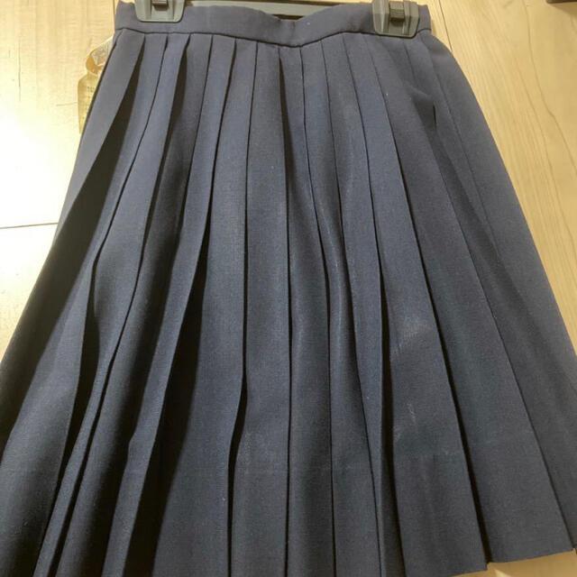 出品最後です! プリーツスカート フレアスカート フォーマル 制服 レディースのスカート(ひざ丈スカート)の商品写真