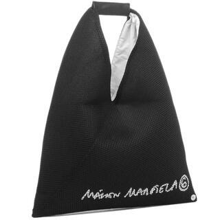 エムエムシックス(MM6)の【新作】MM6 メゾン マルジェラメッシュトートバッグ ブラックsmall(トートバッグ)