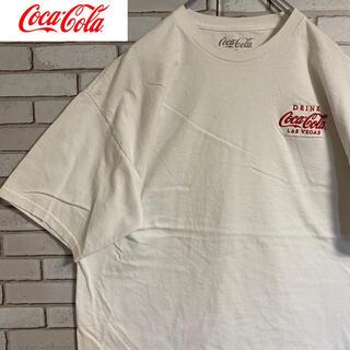 コカ・コーラ - 90s 古着 コカコーラ メキシコ製 Tシャツ 刺繍 ビッグシルエット ゆるだぼ