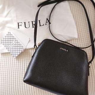 Furla - 美品 * FURLA フルラ ショルダーバッグ ブラック