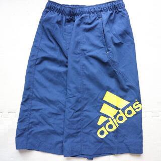 アディダス(adidas)の美品 アディダス 150cm ビッグロゴ海水パンツ 水着 adidas(水着)