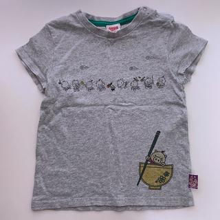 ドラッグストアーズ(drug store's)の【ドラッグストアーズ】半袖 Tシャツ 豚 グレー(Tシャツ/カットソー)