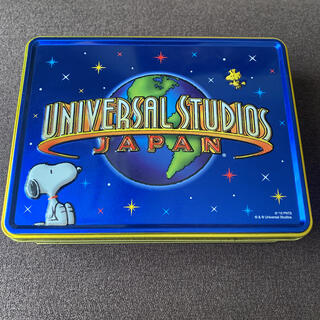USJ - ユニバ アソートクッキー 空き缶