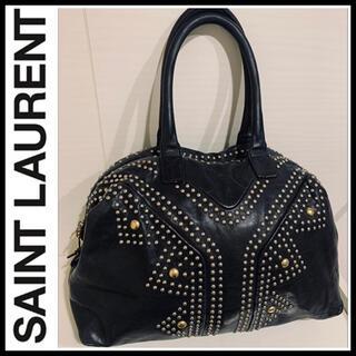 Saint Laurent - Y本革×スタッズ■松屋銀座購入■SAINT LAURENT サンローラン バッグ