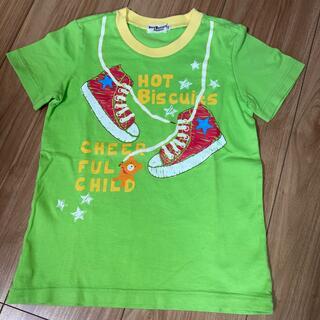 ホットビスケッツ(HOT BISCUITS)の値下げ ミキハウス ホットビスケッツ Tシャツ 110(Tシャツ/カットソー)