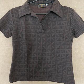 フェンディ(FENDI)のFENDI トップス ポロシャツ(ポロシャツ)