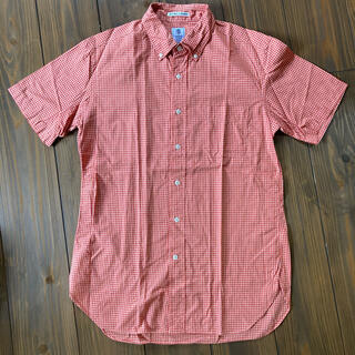 インディヴィジュアライズドシャツ(INDIVIDUALIZED SHIRTS)のGAMBERT CUSTOM SHIRTS 半袖シャツ ギンガムチェック(シャツ)