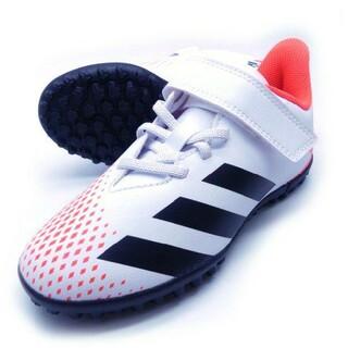 アディダス(adidas)の新品 送料込み adidas 子供用 21.5センチ サッカー シューズ 白色(その他)