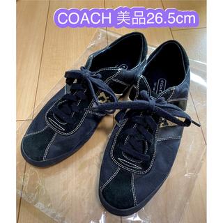 COACH - 【美品✨】Coach コーチ スニーカー ブラック 11M = 26.5cm程