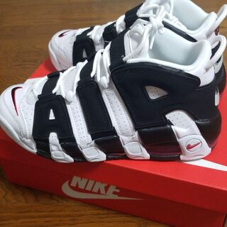 NIKE MORE UPTEMPO IN YOUR FACE  26.5cm(スニーカー)