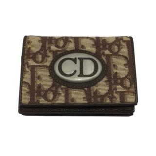 クリスチャンディオール(Christian Dior)のクリスチャン・ディオール Christian Dior トロッター カ【中古】(名刺入れ/定期入れ)