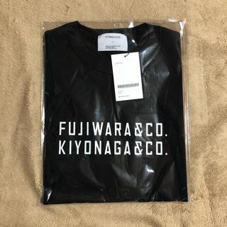 フラグメント(FRAGMENT)のFUJIWARA&CO. FRONT DOUBLE LOGO TEE(Tシャツ/カットソー(半袖/袖なし))