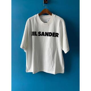 ジルサンダー(Jil Sander)のJil Sander オーバーサイズ ロゴTシャツ(Tシャツ(半袖/袖なし))