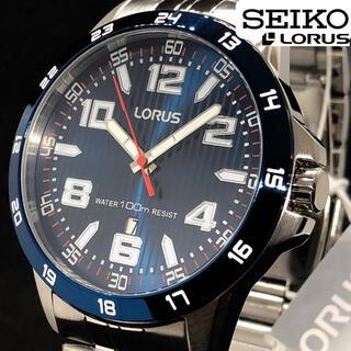 セイコー(SEIKO)の【SEIKO LORUS】新品未使用/メンズ腕時計/イギリス輸入/ブルー色/青色(腕時計(アナログ))