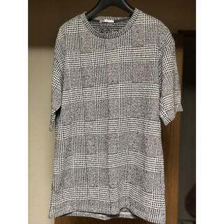 HIGH STREET - HIGH STREETのグレンチェック半袖Tシャツ