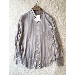 ブルネロクチネリ(BRUNELLO CUCINELLI)の2020SS ブルネロクチネリ モニーレ シルク 100% ドレスシャツ S(シャツ/ブラウス(長袖/七分))