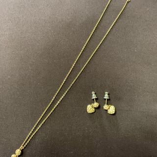 プラスヴァンドーム(Plus Vendome)のプラスヴァンドームのネックレスとピアス(ネックレス)