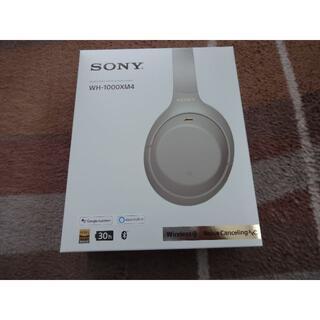 SONY - 美品 SONY ソニー ヘッドホン WH-1000XM4 プラチナシルバー