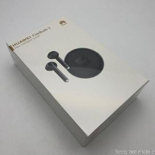 ファーウェイ(HUAWEI)の【新品未使用】HUAWEI ワイヤレスイヤホン FREEBUDS 3 ブラック(ヘッドフォン/イヤフォン)