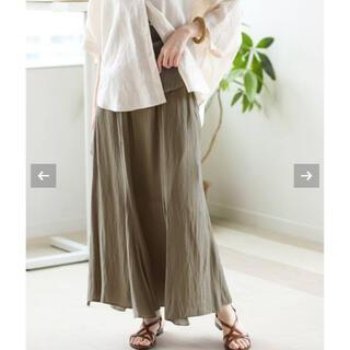 IENA - 新品タグ付き サテンタンブラーランダムフレアスカート