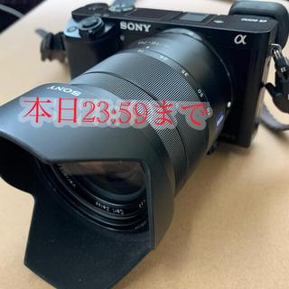 SONY - 【17時まで限定値下げ】ソニーカメラ α6000+カール・ツァイスレンズ