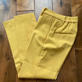 PLST - プラステ ウォームリザーブスティックパンツ 黄色 xxs
