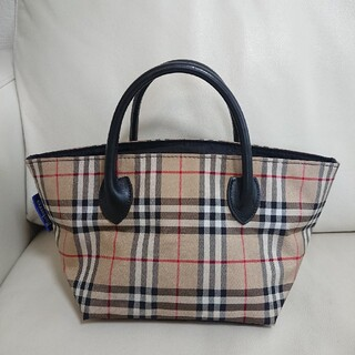 BURBERRY BLUE LABEL - 美品【バーバリーブルーレーベル】ミニトートバッグ ノバチェック ハンドバッグ