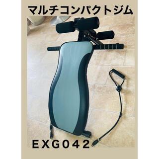 アルインコ マルチコンパクトジムEXG042(トレーニング用品)