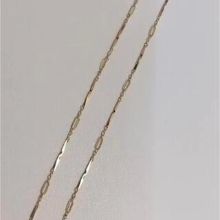 18金デザインネックレス