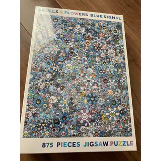 メディコムトイ(MEDICOM TOY)の村上隆 パズル SKULLS & FLOWERS BLUE SIGNAL(その他)