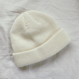 H&M - 新品✨ shein ビーニー ニット帽 ホワイト
