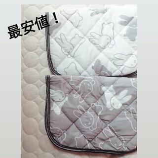 シマムラ(しまむら)のミッフィー 枕パッド miffy こうさぎ 2個セット(シーツ/カバー)