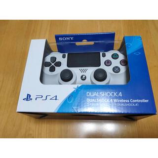 PlayStation4 - PS4 純正ワイヤレスコントローラー DUALSHOCK4 グレイシャーホワイト