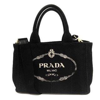 PRADA - プラダ カナパ CANAPA バッグ ハンド ショルダー 2way キャンバス