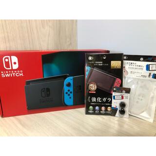 Nintendo Switch - 激レア!日付無記入保証書付き!新型Nintendo Switch本体一式完全品