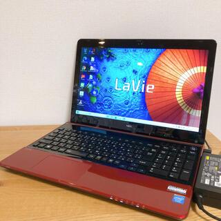 NEC - 希少なレッド!オンライン授業対応・webカメラ・大容量1TB