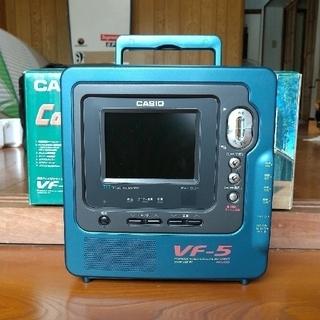 カシオ(CASIO)のCASIO カシオVF-5  VHS  美品(その他)