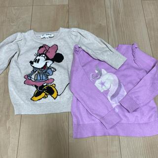 babyGAP - babygap ミニーちゃん ニット 2枚セット 90