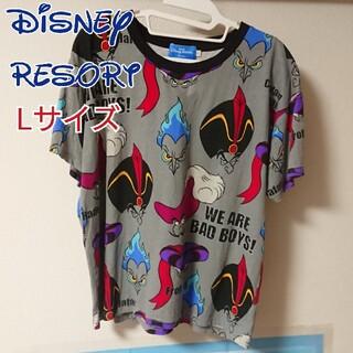 Disney - ディズニーリゾート  ハロウィン ミッキー ヴィランズ Tシャツ 一部難あり