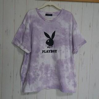 プレイボーイ(PLAYBOY)のタイダイ柄のTシャツ(Tシャツ(半袖/袖なし))