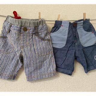 3can4on - 男の子 半ズボン2点 80