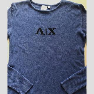 アルマーニエクスチェンジ(ARMANI EXCHANGE)のXS Sアルマーニ エクスチェンジ AX サマーセーター(ニット/セーター)