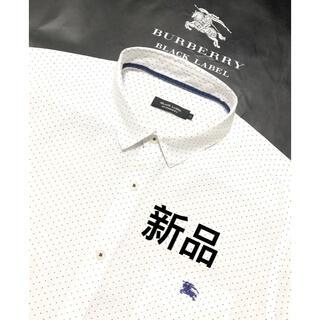 BURBERRY - 新品 バーバリーブラックレーベル 半袖シャツ3