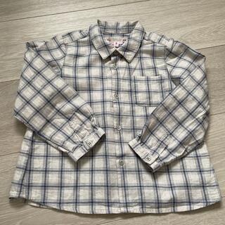 ボンポワン(Bonpoint)のmr1022様ご専用 ボンポワン 長袖ブラウス サイズ3 bonpoint(ブラウス)