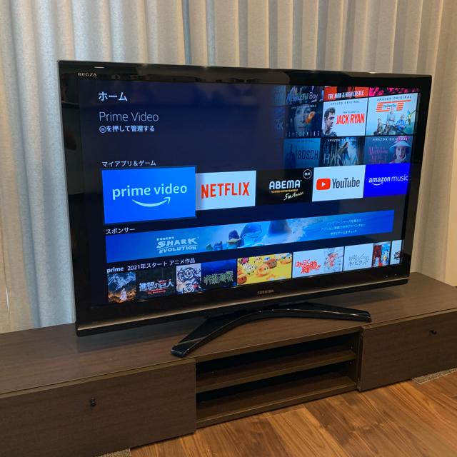 東芝(トウシバ)のTOSHIBA 東芝 REGZA 52R9000 液晶テレビ 52V型  スマホ/家電/カメラのテレビ/映像機器(テレビ)の商品写真