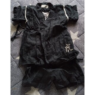 黒色甚平95サイズ(甚平/浴衣)