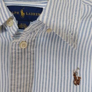 POLO RALPH LAUREN - ポロラルフローレン ストライプ シャツ 100cm